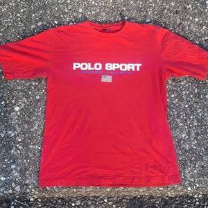 Vintage Polo Sport tee.